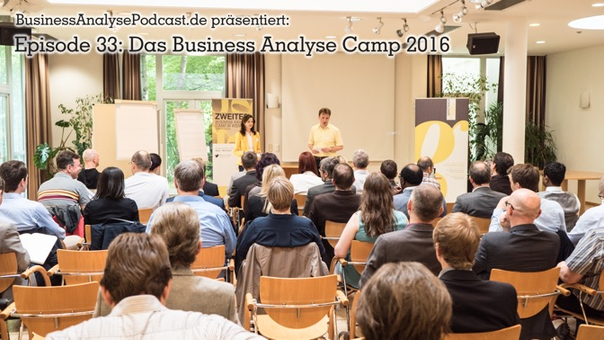 BA33: Das Business Analyse Camp