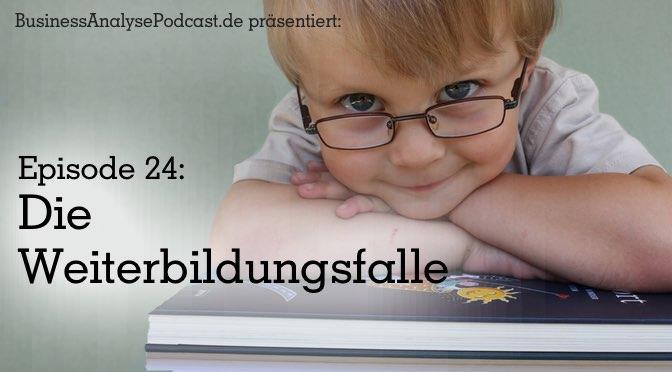BA24: Die Weiterbildungsfalle. Mit Studiogast Raffaela Hartl.