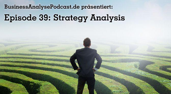 BA39: Strategy Analysis
